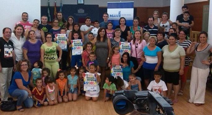 Más de 2.000 motrileños se benefician de la escuela de verano para ludotecas, personas mayores y discapacitados
