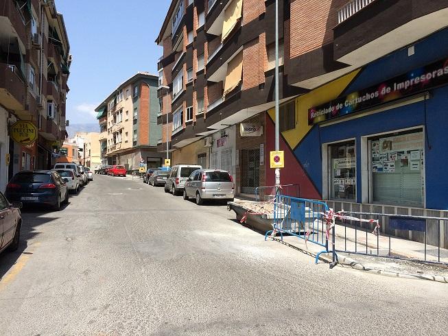 El plan de asfaltado continua esta semana por la rambla de Capuchinos y la calle Depósito