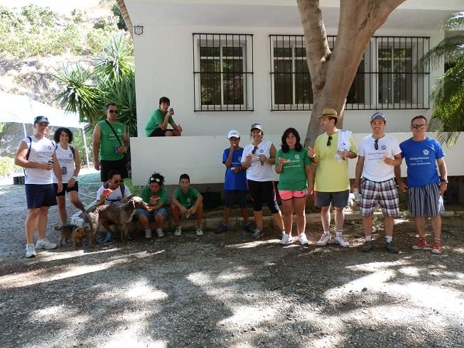 Los senderistas sexitanos conocieron el patrimonio cultural y natural de Almuñécar
