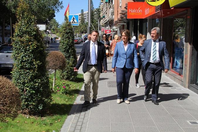 La avenida de Andalucía adquiere más espacio para peatones y conductores