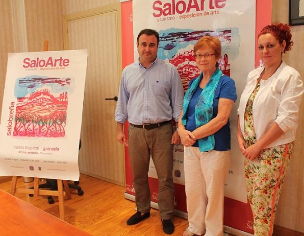 EL CASCO ANTIGUO DE SALOBREÑA ACOGE  LA III EDICIÓN DE SALOARTE & TURISMO