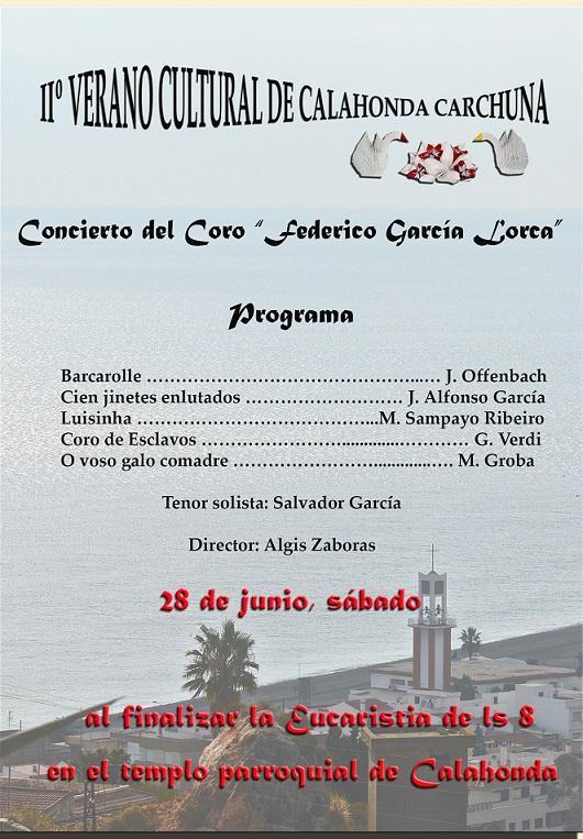 Comienzo del IIº Verano Cultural Calahonda - Carchuna