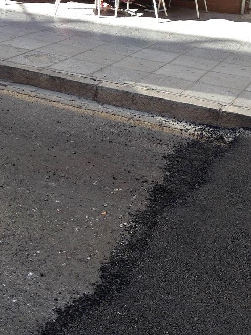 IU Motril critica el asfaltado de la Rambla de Capuchinos