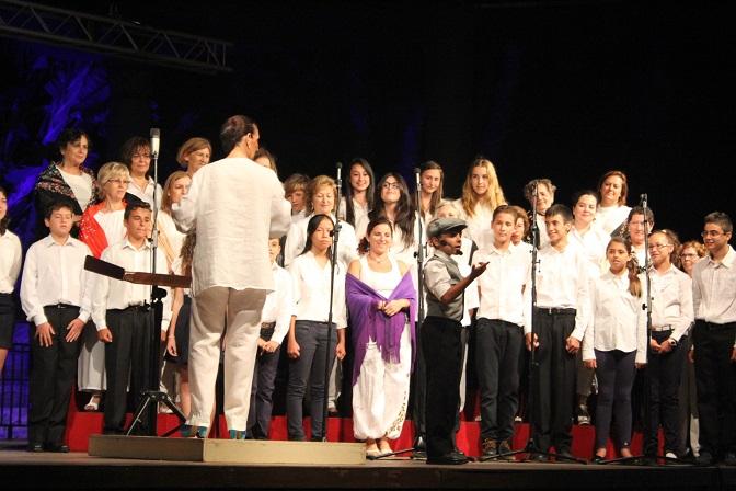 Éxito de la Escuela Municipal de Música  y Danza de Almuñécar en la clausura del curso