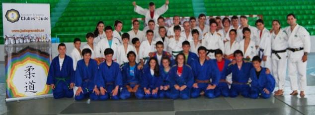 Almuñécar acogió el un Stage de  Judo  con medio centenar de  deportistas