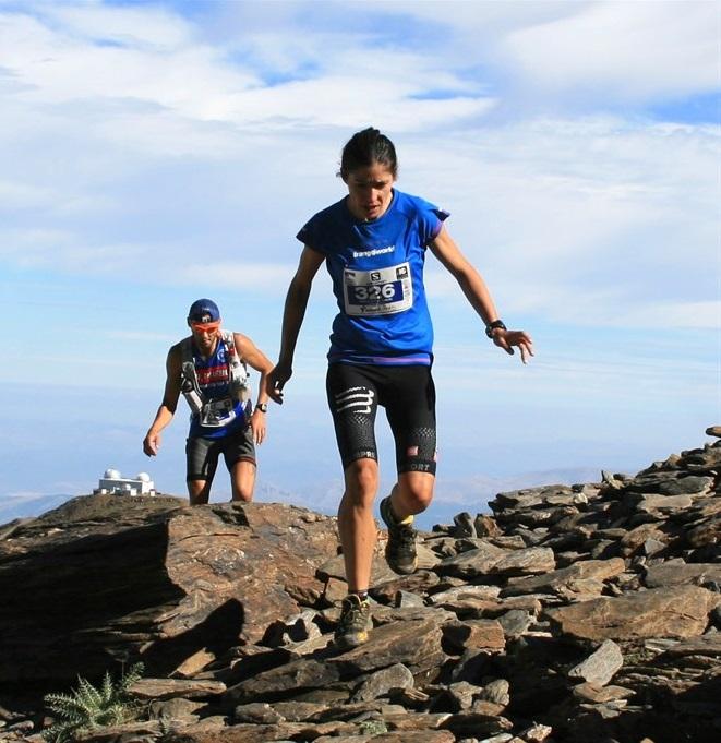 Vanesa Ortega gana las tres pruebas del V Mountain Festival de Sierra Nevada