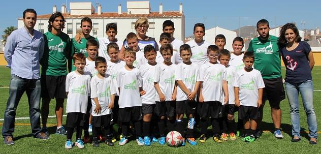 Calahonda acoge una de las sedes del campus de fútbol 'Iundenia'