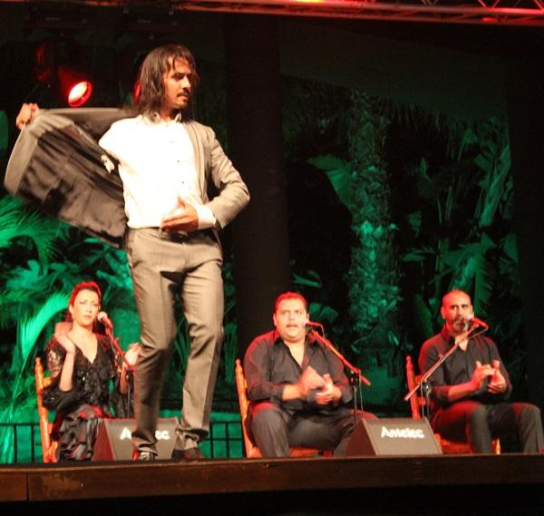 Farruquito presentó en Almuñécar parte del espectáculo Improvisado