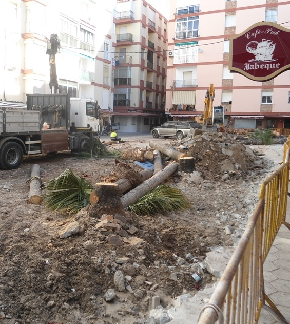 Los empresarios de la construcción de Almuñécar lamentan que las obras municipales se las adjudiquen a empresas foráneas