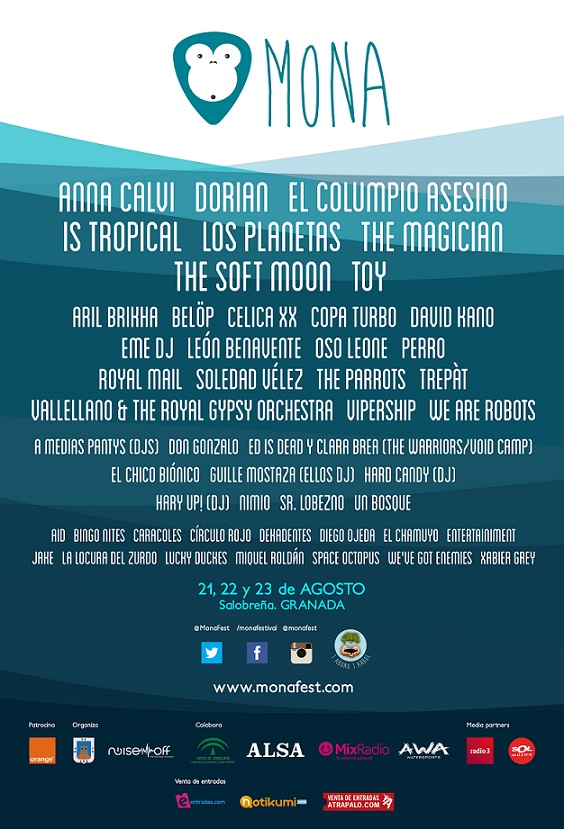 Del 21 al 23 de agosto se celebra Mona Fest en Salobreña