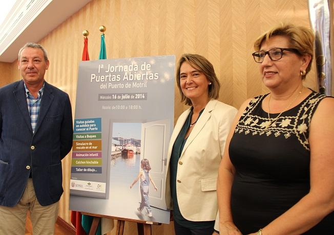 Unas jornadas de puertas abiertas acercarán a los motrileños la actividad portuaria el próximo 16 de julio