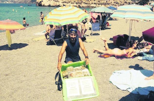 La aceituna, el producto del verano en Salobreña