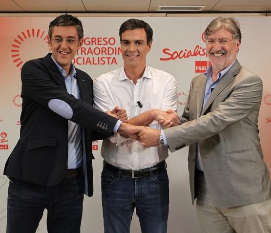 Pedro Sánchez (PSOE) venció en la Costa de Granada. Sólo en Salobreña ganó Madina
