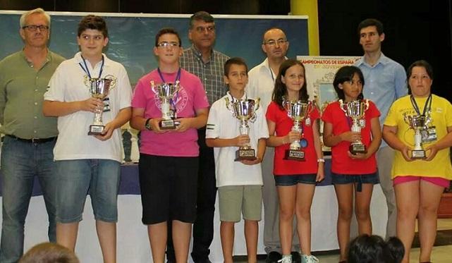 Mario Domínguez Ruiz tercero en el Campeonato de España de Ajedrez Rápido