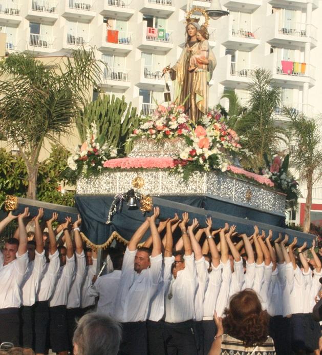 Almuñécar y La Herradura  celebran desde este miércoles  la Fiesta del Carmen