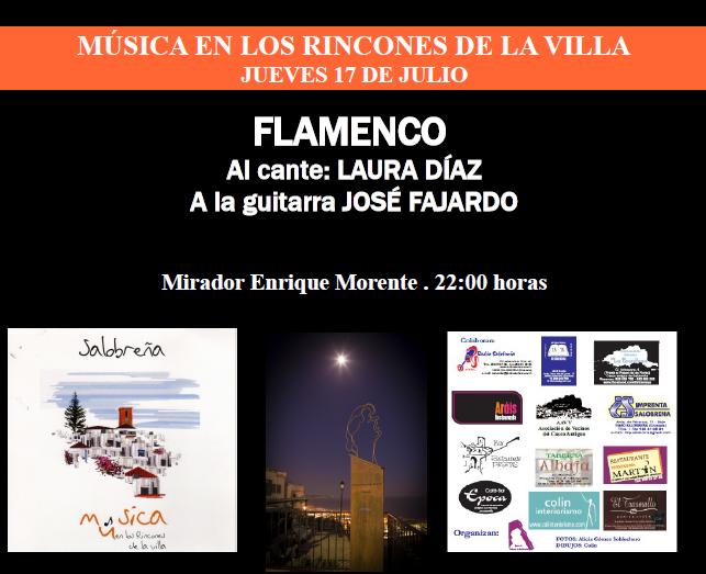 """Laura Díaz y José Fajardo en """"Música en los rincones de Salobreña"""""""