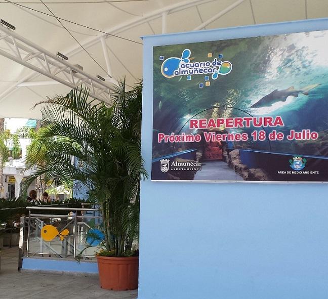 El acuario de Almuñécar se presenta este jueves al sector turístico local y medios de comunicación