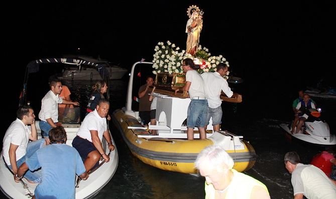 Almuñécar y La Herradura celebraron con  devoción la festividad de la Virgen del Carmen