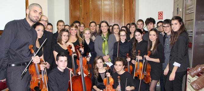 La Joven Orquesta Ciudad de Motril ofrece esta noche su concierto de verano