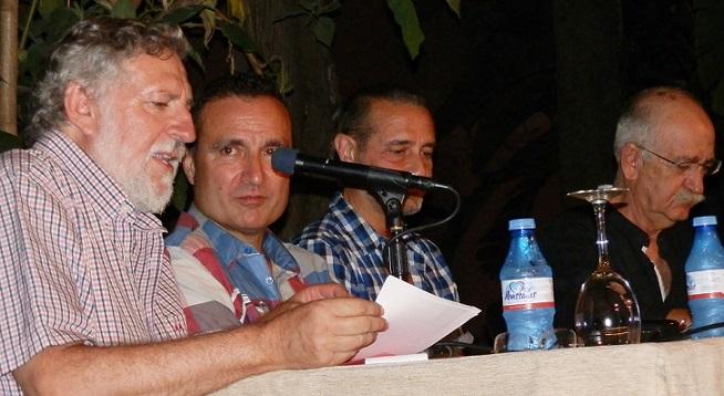 Los sexitanos conocieron la poesía de Gallego y Marzal