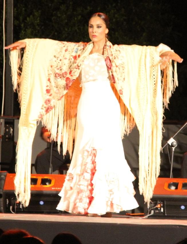 Los bailaores granadinos Iván Vargas y Alba Heredia se presentaron con éxito  en el festival flamenco de La Herradura