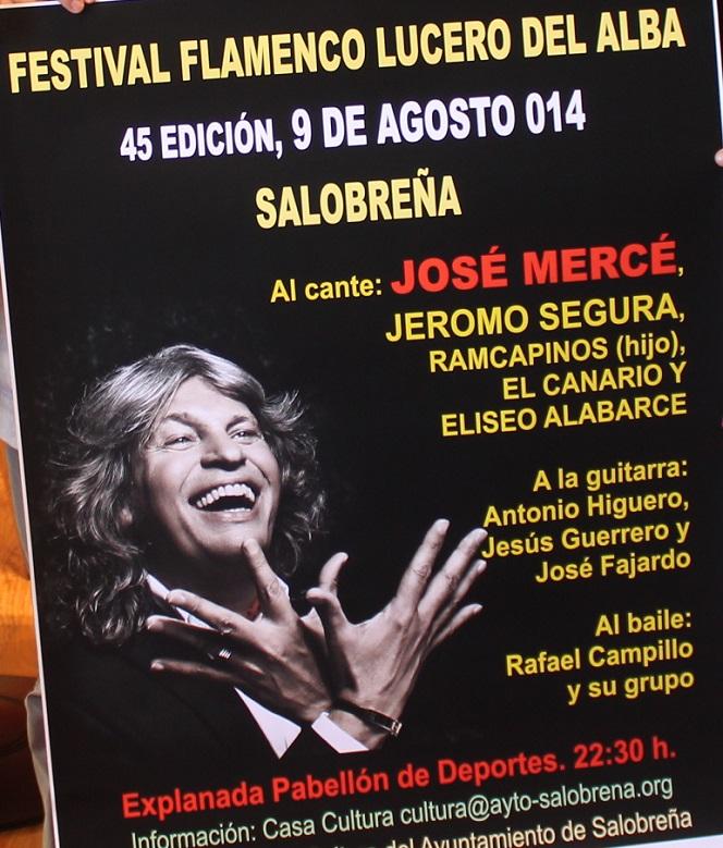 José Mercé encabeza el cartel del Festival Flamenco Lucero del Alba de Salobreña