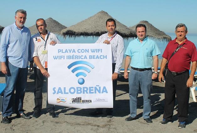 Las playas de Salobreña ya cuentan con wifi gratuito