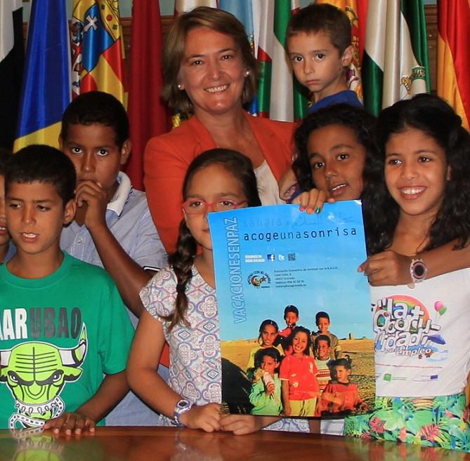 Una veintena de niños saharauis disfrutarán del verano en Motril