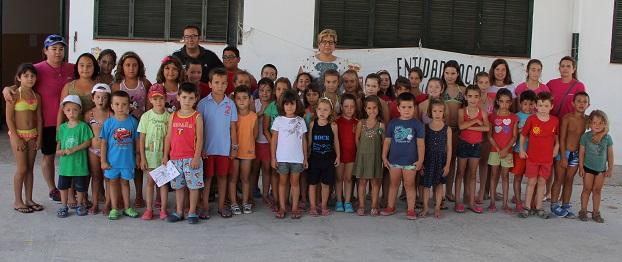 El campamento de Carchuna concluye tras dos semanas de actividades