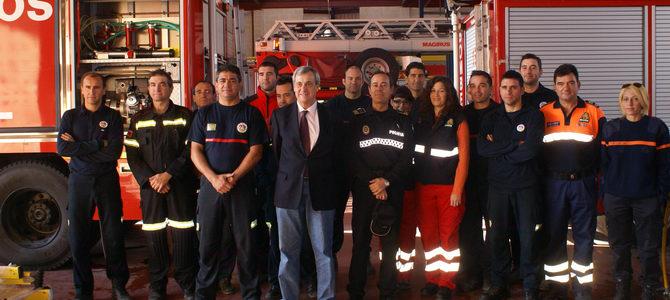 El parque de bomberos de Motril recibe una inversión de dos millones de euros en los últimos siete años