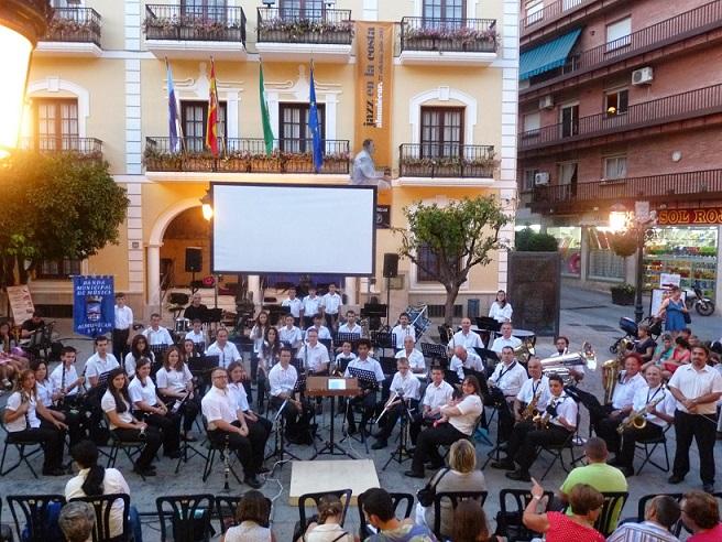 Intenso programa de actuaciones de la Banda Municipal de Almuñécar