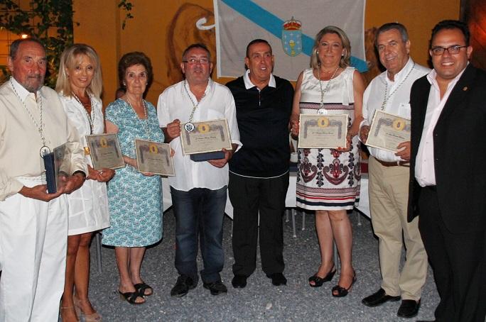 Los Asociación Amigos de Galicia en La Herradura  celebran la Festividad de Santiago