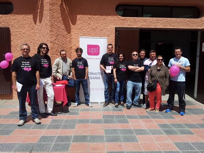 UPyD se rompe en Almuñécar. Sus bases se pasan en bloque a Ciudadanos Granada