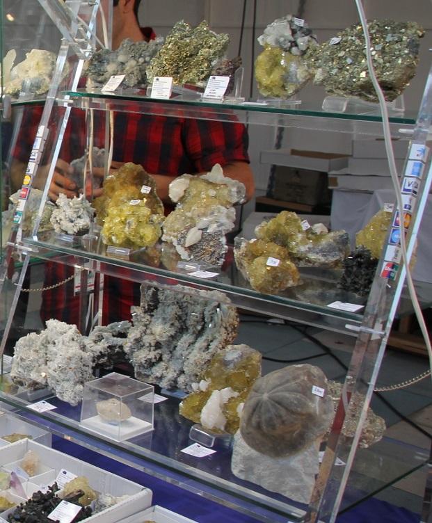 Unas 8000 personas han visitado  II Feria de Minerales y Fósiles de Almuñécar