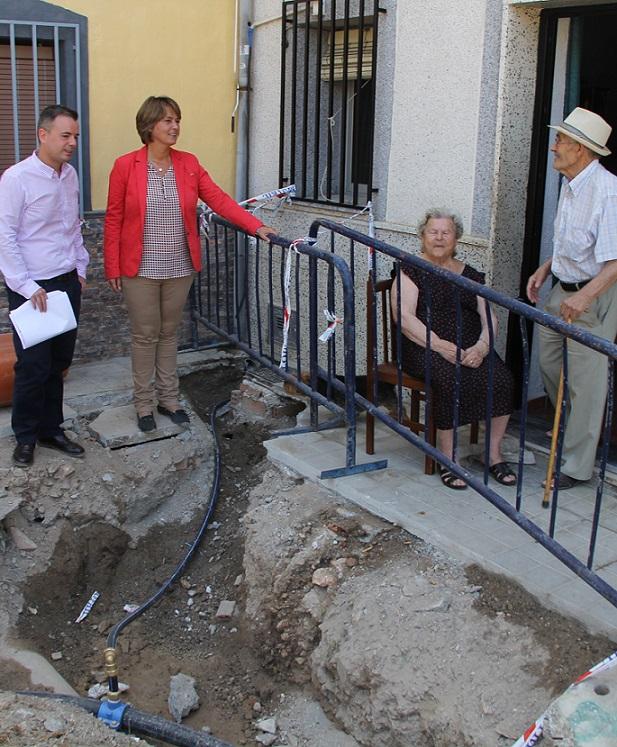 El Ayuntamiento solventa los problemas de humedad de las jardines de Cuartel de Simancas