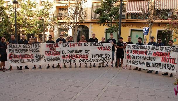 """""""Mala gestión en el parque de bomberos de Motril"""" por Convergencia Andaluza"""