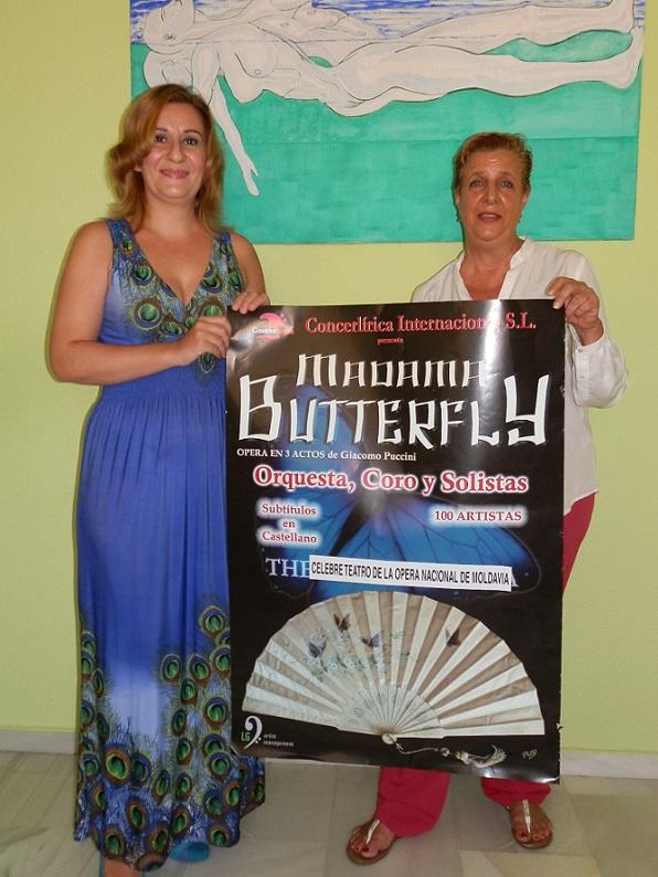 Este lunes llega a Almuñécar la Opera de Madame Butterfly con la Orquesta Nacional de Moldavia