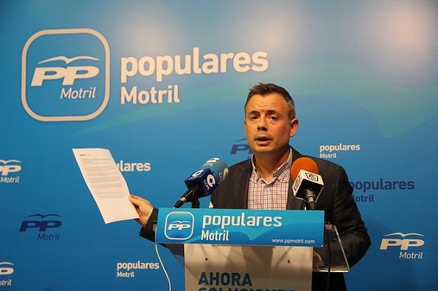 PP-Motril acusa a la oposición de estar haciendo una campaña de desprestigio contra la ciudad para intentar desgastar al equipo de Gobierno