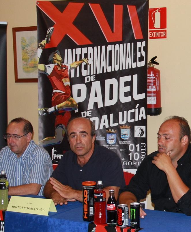 """Almuñécar celebra el XVI Internacional de Pádel de Andalucía y IX  """"Ciudad de Almuñécar"""" de  Pádel"""