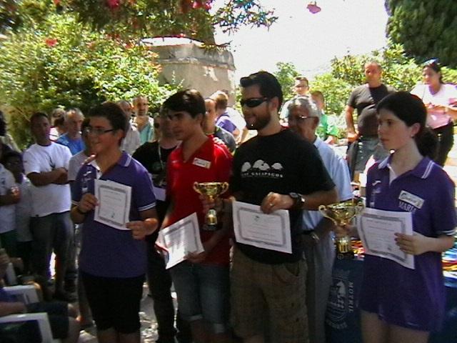 """Luís Cabrera Ruiz ganador del IV Torneo de Ajedrez """"JARDÍN NAZARÍ"""
