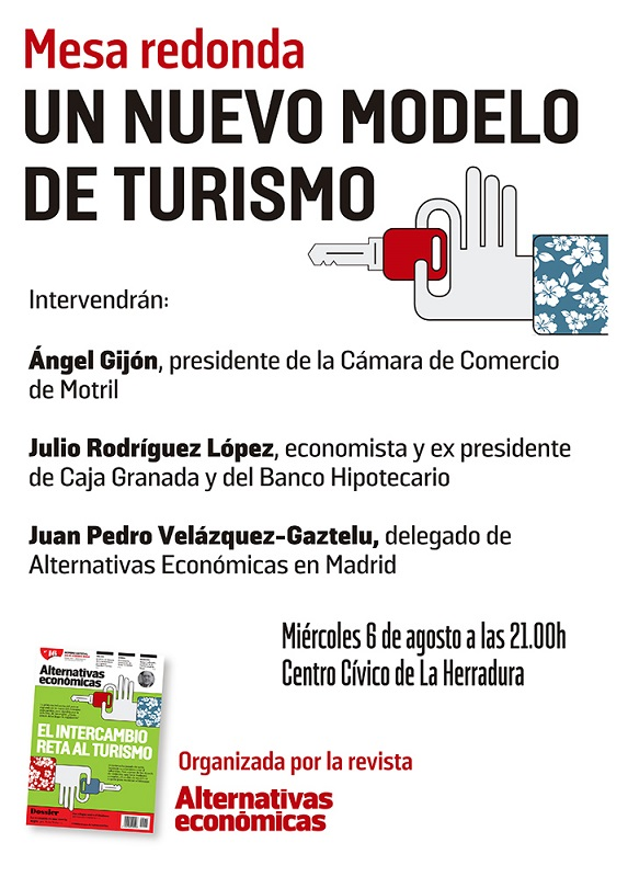 """Alternativas Económicas organiza hoy una mesa redonda sobre """"Un nuevo modelo de turismo"""""""