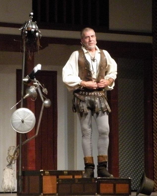 """Se inicio de la Muestra de Teatro Clásico """"Trópico de Europa"""" con la obra de El Quijote"""