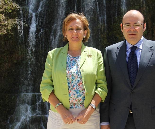 La Diputación avanza en Los Guájares la conexión con Pinos del Valle
