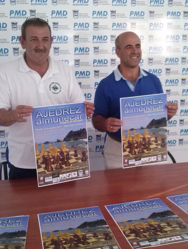 """Presentación del """"Primer Torneo de Ajedrez Almuñécar Trópico de Europa"""""""