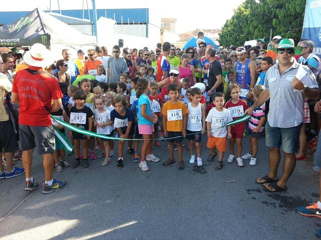 Francisco Urbano y Cristina García fueron los  vencedores absolutos de la Carrera de de Vega de Almuñécar