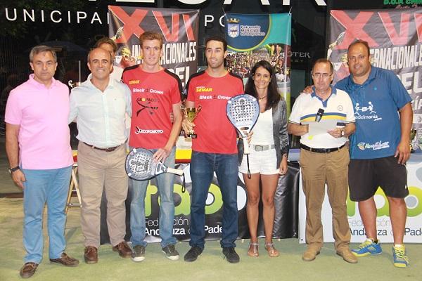 Javi Ruiz y Peli Espejo ganan el XVI Internacional de Andalucía de Pádel en Almuñécar
