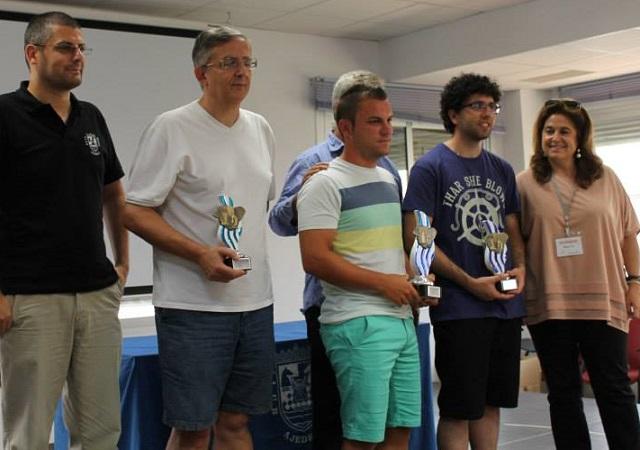 """Andrés Sánchez Martínez brillante campeón de la XXIX Torneo de Ajedrez """"Ciudad de Motril"""""""