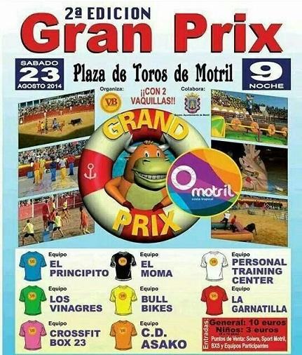 Ocho equipos locales disputarán sobre la arena de la plaza de Motril la segunda edición del Grand Prix