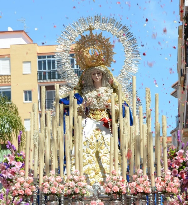 Del 22 al 24 de Agosto, Triduo en Honor a Santa María del Triunfo, Reina de los Cielos
