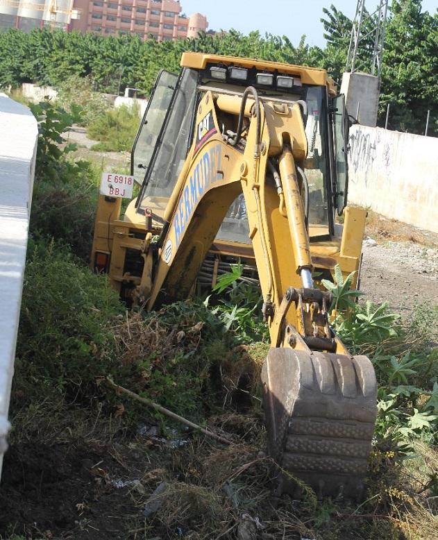 El Ayuntamiento de Almuñécar ha retirado de ríos y ramblas unas 600 toneladas de maleza y residuos